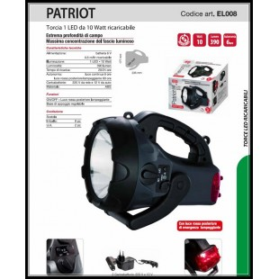 TORCIA PATRIOT RICARICABILE