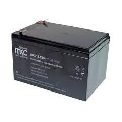 BATTERIA AL PIOMBO RICARICABILE CICLICA12V 12A TERMINALE FASTON 6.3MM MKC12-12H