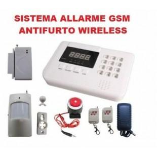 SISTEMA DI ALLARME SENZA FILI CON COMBINATORE TELEFONICO GSM ZODIAC
