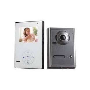 """Videocitofono Zodiac colori VVR-4.3INC, 4,3"""", senza fili"""