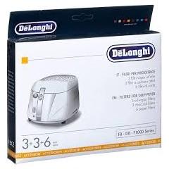 Kit filtri per friggitrice F8, D8, F1000 serie, Delonghi