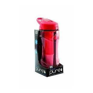Borraccia acqua fresca e filtrata EZ-Freeze Pure, Rosso