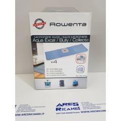 Rowenta ZR816001 4 Sacchetti per bidone aspirapolvere AcquaExcel - Bully - Collecto