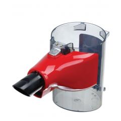 Bosch 12026556 contenitore polvere rosso per scopa elettrica Unlimited 8, BBS1, BBS8