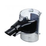 Bosch 12024596 contenitore polvere nero senza filtro per scopa Unlimited 8, BBS1, BBS8