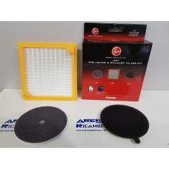 Hoover U27 Kit filtri per aspirapolvere a traino Sensory eSensory Dust Cyclonic
