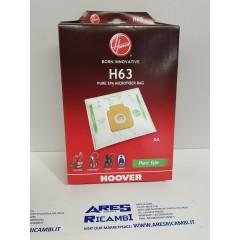 Hoover H63 Sacchetti originali per aspirapolvere a traino Capture, Freespace, Flash, Sprint