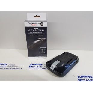 Rowenta ZR009701 Batteria litio originale scopa flessibile Xforce 25,2V RH9879