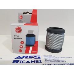 Hoover T116 Filtro aria in uscita 35602170 per scopa H-FREE 100
