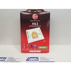 Hoover H63 confezione da 4 sacchetti per aspirapolvere a traino