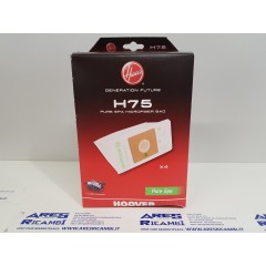 Hoover H75 confezione da 4 sacchetti per aspirapolvere A Cubed Silence