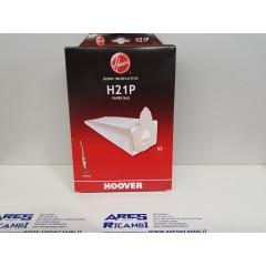 Hoover H21P confezioen da 5 sacchetti per scopa elettrica Acenta