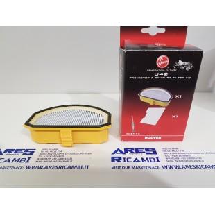 Hoover U42 filtro pre-motore + filtro aria per scopa elettrica ACENTA