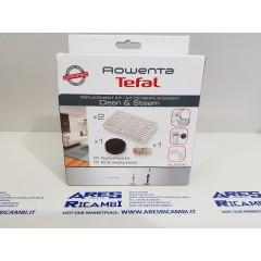 Rowenta ZR005801 Kit per Steam&Clean panni+filtro+anticalcare