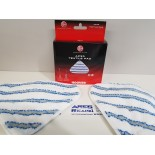 Hoover AC33 confezione due panni di ricambio per scopa a vapore STEAMJET EXPRESS e STEAM EXPRESS