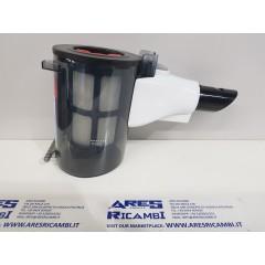 Bosch contenitore polvere bianco completo di filtro per scopa elettrica  Unlimited 8 mod: BBS... BCS...