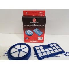 Hoover U60 Kit filtro Hepa  pre-motore + filtro aria per aspirapolvere RUSH
