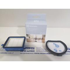 Electrolux Kit filtri aria e motore per aspirapolvere scopa serie PURE F9