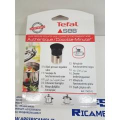 Tefal Seb 790076 Valvola di sicurezza pentola a pressione Authentique, Cocotte