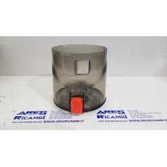 Hoover Contenitore polvere tasto rosso scopa elettrica H-FREE200, HF222AXL011
