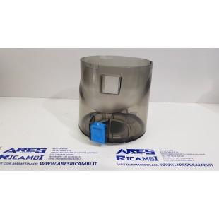 Hoover Contenitore polvere tasto blu scopa elettrica H-FREE200, HF222UPT011