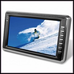 """TV COLOR 16:9 7"""" LCD-TFT COLOR TV"""